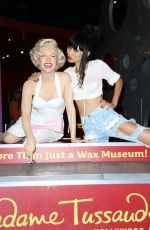 BAI LING at Madame Tussauds in Hollywood 08/08/2016