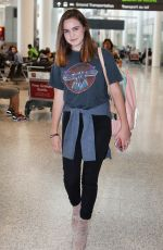 BAILEE MADISON at Toronto Pearson International Airport 08/01/2016