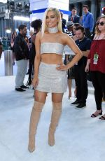 BEBE REXHA at 2016 MTV Video Music Awards in New York 08/28/2016