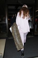 BELLA THORNE at Los Angeles International Airport 08/10/2016