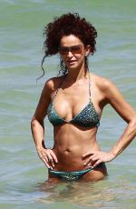 Best from the Past - SOFIA MILOS in Bikini at a Beach in Ischia 2009