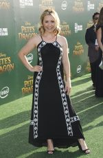 BEVERLEY MITCHELL at 'Pete's Dragon Premiere in Hollywood 08/08/2016