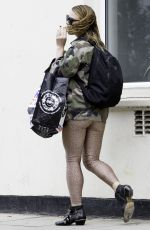 BILLIE PIPER Out and About in London 07/30/2016