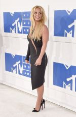 BRITNEY SPEARS at 2016 MTV Video Music Awards in New York 08/28/2016