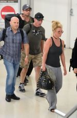 BRITNEY SPEARS at Newark Airport in New York 08/25/2016