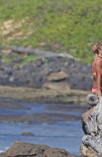 BRITNEY SPEARS in Bikini on the Beach in Hawaii 08/06/2016