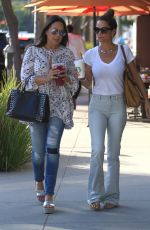 BROOKE BURKE Out and About in Beverly Hills 08/02/2016