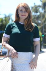 BRYCE DALLAS HOWARD at Instyle Jennifer Klein's 2017 Indulgence Party in Los Angeles 08/14/2016