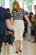BRYCE DALLAS HOWARD Out and About in New York 08/03/2016