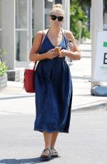 BUSY PHILIPPS Out and About in Los Angeles 08/03/2016