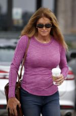 CAITLYN JENNER Out for Coffee in Malibu 08/08/2016