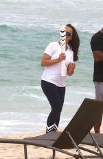 CAMILLA BELLE at a Beach in Rio De Janeiro 08/08/2016