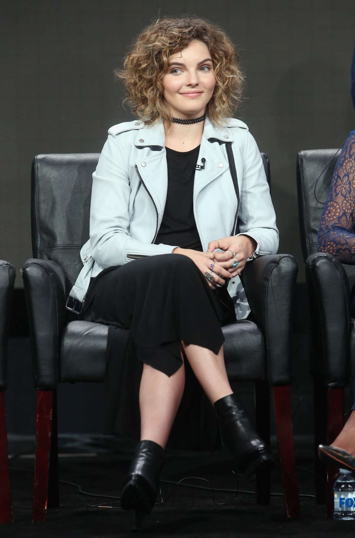 CAMREN BICONDOVA at Fox Panel at Summer TCA Press Tour in Los Angeles 08/08/2016