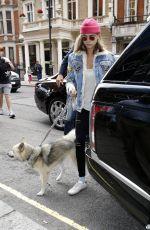 CARA DELEVINGNE Arrives at Her Hotel in London 08/03/2016