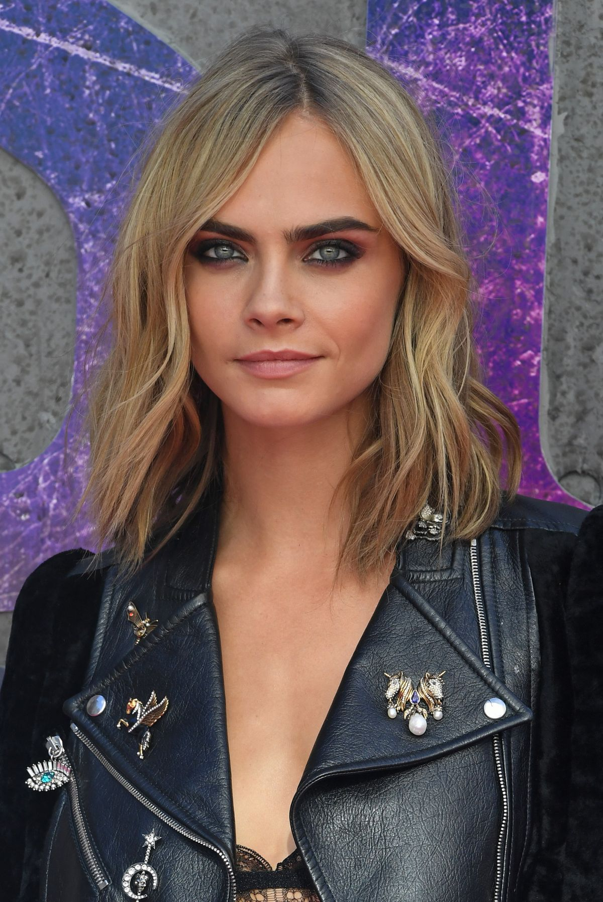 CARA DELEVINGNE at 'Suicide Squad' Premiere in London 08 ...