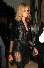 CARA DELEVINGNE Leaves Her Hotel in London 08/03/2016