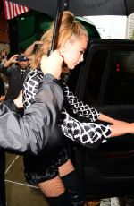 CARA DELEVINGNE Night Out in New York 07/31/2016