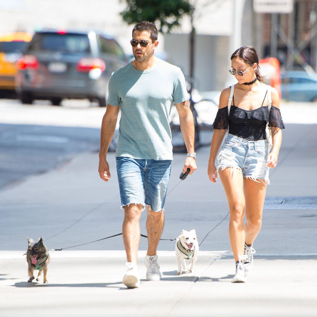 CARA SANTANA in Denim Shorts Out in New York 08/07/2016 ...