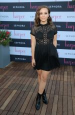 CARLY RAE JEPSEN at Harper by Harper's Bazaar September Issue Party in Hollywood 08/25/2016
