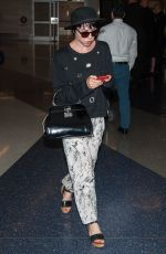 CARLY RAE JEPSEN at LAX Airport in Los Angeles 08/20/2016