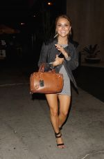 CASSIE SCERBO at Bootsy Bellows in West Hollywood 08/12/2016