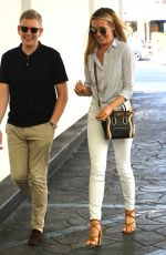 CAT DEELEY Leaves Lunch in Beverly Hills 08/09/2016