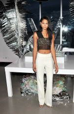 CHANEL IMAN at W Hotel Party to Celebrate Opening of W Dubai in New York 08/17/2016