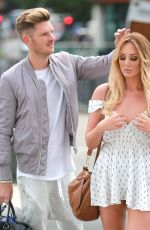 CHARLOTTE CROSBY at Menagerie Restaurant in Manchester 08/05/2016