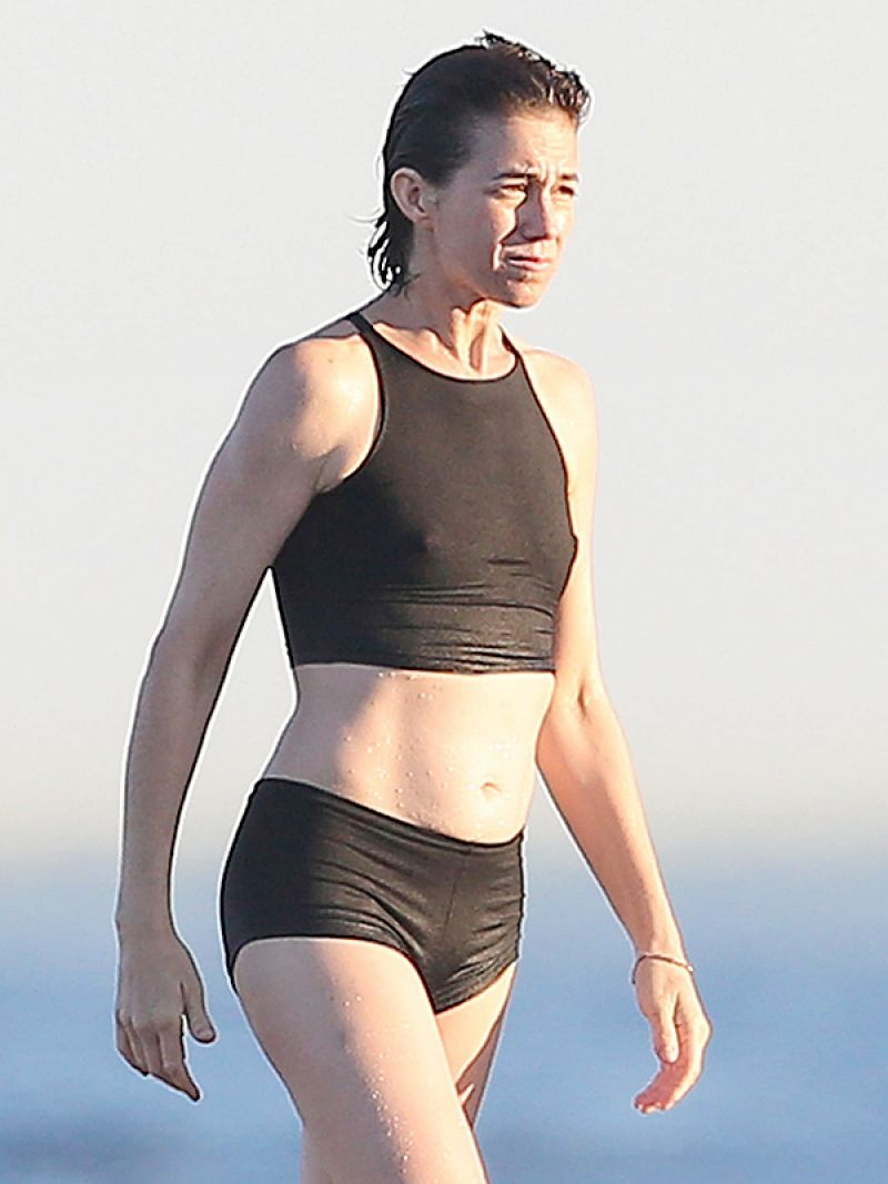 CHARLOTTE GAINSBOURG in Bikini in St. Tropez 08/12/2016