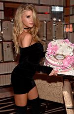 CHARLOTTE MCKINNEY Celebrates Her Birthday at Encore Beach Club and Intrigue Nightclub 08/06/2016