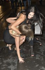 CHLOE FERRY Night Out in Newcastle 08/20/2016