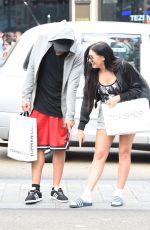 CHLOE FERRY Out Shopping in London 08/09/2016