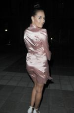 CHLOE GOODMAN Night Out in London 08/13/2016