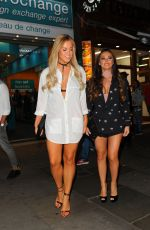 CHLOE MEADOWS and COURTNEY GREEN at Cafe De Paris in London 08/06/2016