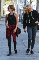 CHLOE MORETZ Arrives at Pilates Class in West Hollywood 08/19/2016