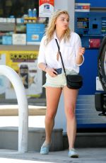 CHLOE MORETZ at a Gas Station in Los Angeles 08/04/2016