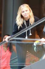 CHLOE MORETZ at Arc Light Cinemas in Hollywood 08/02/2016