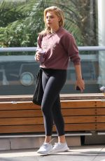 CHLOE MORETZ at Soulcycle in West Hollywood 08/15/2016