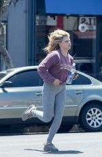 CHLOE MORETZ Leaves a Salon in Los Angeles 08/10/2016