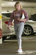 CHLOE MORETZ Leaves Coffee Bean in Studio City 08/05/2016