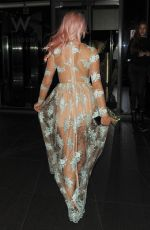 CHLOE PAIGE at W Hotel in London 08/18/2016