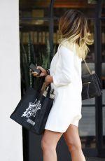 CHRISSY TEIGEN Leaves Meche Salon in Beverly Hills 08/26/2016