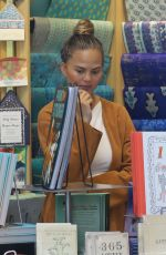 CHRISSY TEIGEN Out for Shopping in Beverly Hills 08/04/2016