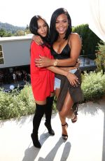 CHRISTINA MILIAN and KARREUCHE TRAN at Good Brother Clothing Launch Pool Party in Hollywood 08/20/2016
