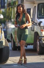 CHRISTINA MILIAN in Tights Shopping in Hollywood 08/30/2016