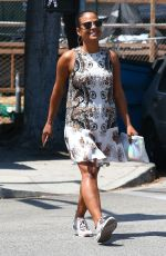 CHRISTINA MILIAN Out and About in Los Angeles 08/22/2016