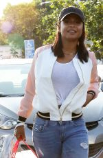 CHRISTINA MILIAN Shoping at Fred Segal in West Hollywood 08/26/2016