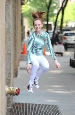 CLARE FOLEY Out and About in New York 08/02/2016