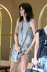 COBIE SMULDERS at Her Hotel in Beverly Hills 07/27/2016