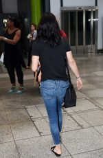 COURTENEY COX at Heathrow Airport in London 08/20/2016